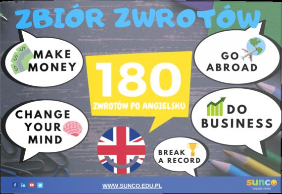 Poznaj ponad 180 zwrotów po angielsku transparent background